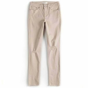 LC Lauren Conrad Feel Good Distressed Skinny Jeans